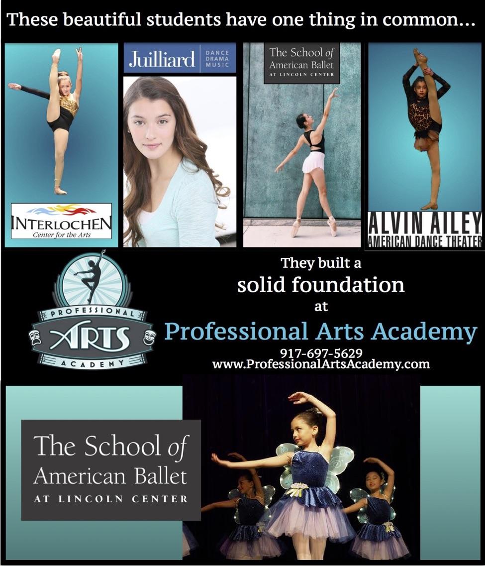 dance classes Edgewater NJ - Professional Arts Academy